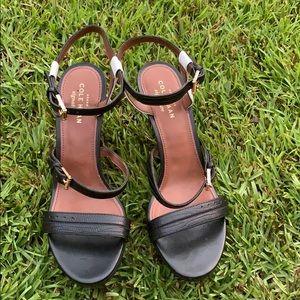 Cole Han Black & White Heels